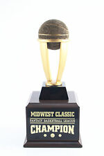 6 Year Tower Fantasy Basketball Trophy - Free Engraving! Ships In 1 Day!
