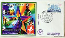 FRANCE BLOC FEUILLET CNEP SUR LETTRE  PHILAFLANDRE 96 N° 22 FDC4