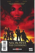 NECROSHA THE GATHERING #1 VAMPIRES MOVIE POSTER VARIANT X-FORCE MEN 23 WOLVERINE