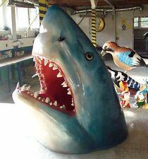 Figur Haikopf Fisch Haifisch Hai Deko Fische Dekoration Werbung BLACKFORM