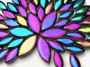 Titanium Ceramic Petals - Mosaic Tiles Supplies Art Craft