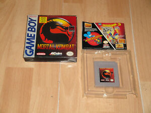 MORTAL KOMBAT BY ACCLAIM FOR FIRST NINTENDO GAME BOY USED IN GOOD CONDITION