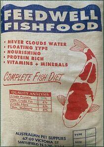 Feedwell Goldfish & Koi Pellets 16 kg -Large