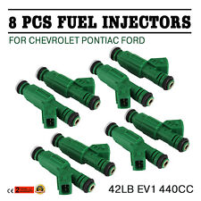 OEM 8X Green Fuel Injector fits for Chevrolet Camaro 42 lb 0280155968 Can