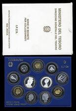 REPUBBLICA ITALIANA - DIVISIONALE 11 VALORI 1988 DON BOSCO _PROOF FS