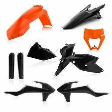 Acerbis Plastic Kit KTM EXC EXCF 17-19 Orange Black KTM Exc300 2017