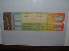 Rush Unused 1981 Concert Ticket Providence Ri C.C. Mega Rare Moving Pictures Lee