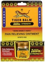 Tiger Balm Ultra Strength Pain Relieving Ointment Non-Staining 18 gm
