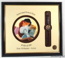 Ariel & Prince Eric Character Watch & Artwork by Disney Framed Artist