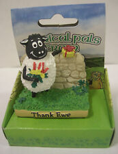 """IRELAND SHEEP WITH FLOWERS AND GIFT """"THANK YOU"""" THANK EWE"""