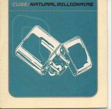 (548C) Cube, Natural Millionaire - DJ CD