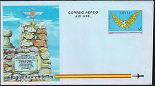 998 SPAIN PS AIR LETTER AEROGRAMME 1993 UNUSED AVIATION DIEGO MARIN AGUILERA
