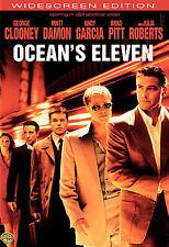 Ocean's Eleven (Widescreen Edition) Pitt, Clooney, Damon, Roberts NEW UNOPENED