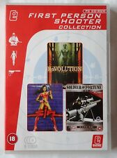 SIN PC CD-ROM SHOOTER GAME + SOLDIER OF FORTUNE & REVOLUTION  brand new pack