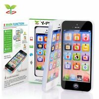 Childrens Y-Phone Educational Learning 123 Kids Phone TOY 4s 5  BLACK-SEE VIDEO