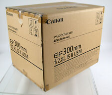 CANON EF L IS II USM EOS 2,8/300 300 300mm F2,8 2,8 ALL TOP ! OVP Boxed complete