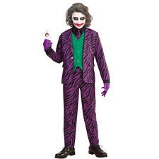 Joker Children's Costume Villain Halloween 128 5 - 7 Years