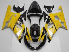 Free decals! New Fairing Fit for 2001-03 Suzuki GSXR 600 750 Injection Mold u017