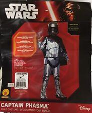 Captain Phasma Star Wars Costume Child Kids Sz L Large 12-14 Halloween Dress Up