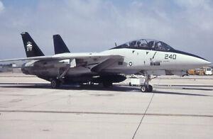 Original aircraft slide USNavy F14 XF-240