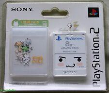 PS2 Doko Demo Issyo Tarjeta de memoria de 8 MB (2004) totalmente nuevo y sellado de fábrica Sony