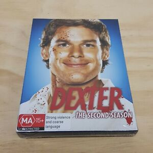 DEXTER The Complete Season 2 DVD (4 Disc Set) R4 - NEW + SEALED