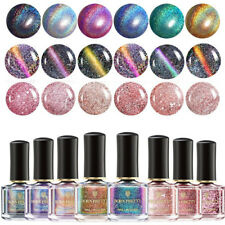 Holo Chameleon Nail Polish 3D Magnetic CatEye  Varnish Salon BORN PRETTY