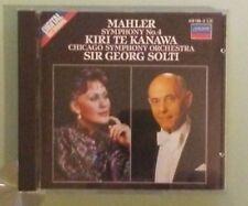 chicago symphony orchestra / solti  MAHLER SYMPHONY NO 4 kiri te kanawa   CD