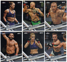2017 Topps Chrome UFC - Base Set Cards - Pick From MMA Card #'s 1-100