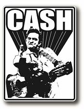 JOHNNY CASH POP ROCK ROCKABILLY DECAL STICKER HIGH GLOSS OUTDOOR