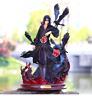 Naruto Shippuden Anime Model 26cm Uchiha Itachi PVC GK Collectible Figure Toy