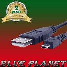 SONY Cybershot / DSC-H300 / DSC-H200 / Cavo USB CARICABATTERIE trasferimento di dati Piombo