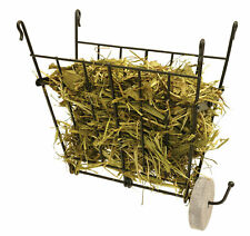 Rosewood Small Animal Folding Wire Hayrack With Safe Salt Spool Hanger