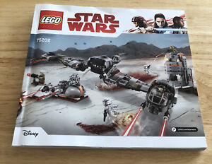 STAR WARS - LEGO 75202 - Instruction Manual Only