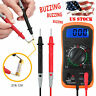 LCD Digital Multimeter AC/DC Voltmeter Ammeter Ohmmeter Volt Tester Diodes Meter