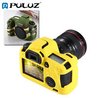 For Canon EOS 6D, PULUZ Soft Silicone Protective Cover Case Skin