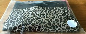 Ladies Slim n Lift Aire Shorts - 1 pair -  in Leopard Print Black Size Medium