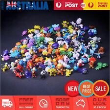 144x Pokemon Go Figurine For Kids Cake Decoration Topper Figure Toy Action Set