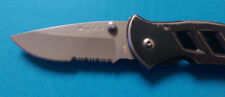 Buck Stanless Steel Folding Knife w/ Pocket Clip Hunting / Camping