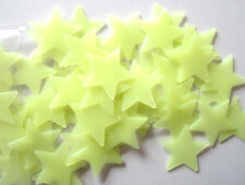 100Pc Bedroom Fluorescent Glow In The Dark Stars Wall Stickers Decroation Set