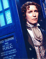 PAUL MCGANN The Doctor HAND SIGNED Dr Who The Tardis 10x8 Photo AFTAL COA