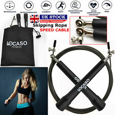 Adjustable 3m Skipping Jumping Speed Rope Jump Fitness Boxing Gym Exercise Cable