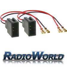 Citroen C1 / Peugeot 107 / Toyota Aygo Speaker Adaptor Lead Cable Loom Plug Pair