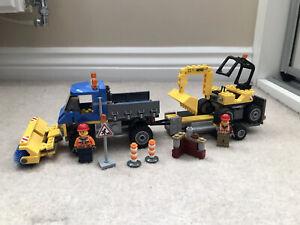 LEGO City Sweeper and Excavator (60152)