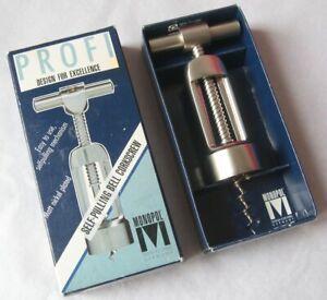 Profi Monopol Self-Pulling Bell Corkscrew - Boxed / Used