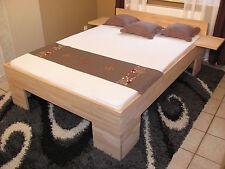 Massivholz Echtholz Bett Buche 180x200 Fuß II Doppelbett Ehebett Seniorenbett