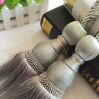 Curtain Holdbacks Rope Large Tie Backs Tassel Tiebacks Beaded Ball Home Decor D