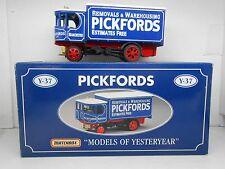 1420 MATCHBOX Y37 PICKFORDS 1929 GARRETT STEAM WAGON CAMION TRUCK MODEL 1/43