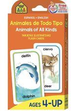 Bilingual Flash Cards English & Spanish