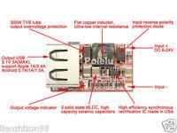 6V-12V-24V to 5V 3A CAR USB Charger Module DC Buck step down voltage Converter